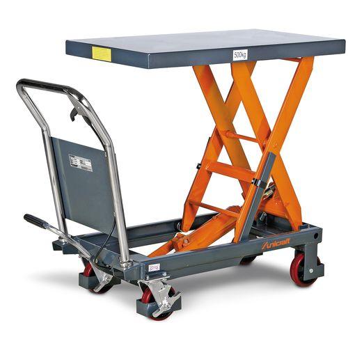wózek platformowy nożycowy