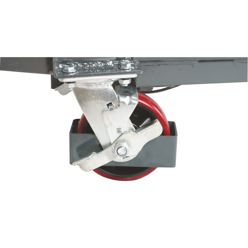 Unicraft FHT 500 - kółka zaopatrzone w osłonę