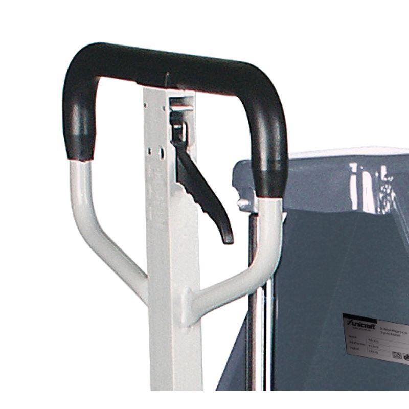 Unicraft PHH 1001 - dźwignia do jednoręcznego sterowania szybkiego skoku, pozycji neutralnej a także podnoszenia i opuszczania