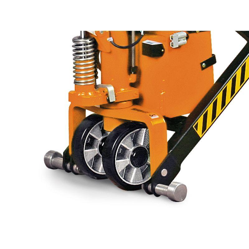 Unicraft PHH 1003 E - seryjnie montowane nóżki podporowe zapobiegające odtoczeniu się wózka