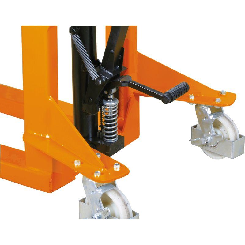 Unicraft GHHW - dodatkowa dźwignia nożna odpowiadająca za funkcję podnoszenia wózka