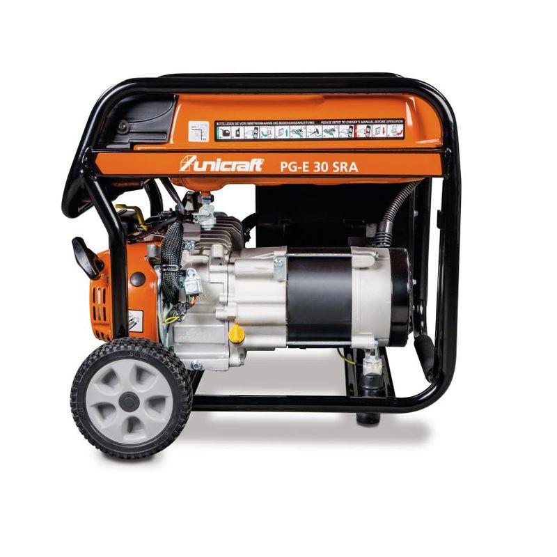 Unicraft PG-E 30 SRA - o mocy ciągłej 2,5 kW i 15 litrowym zbiorniku