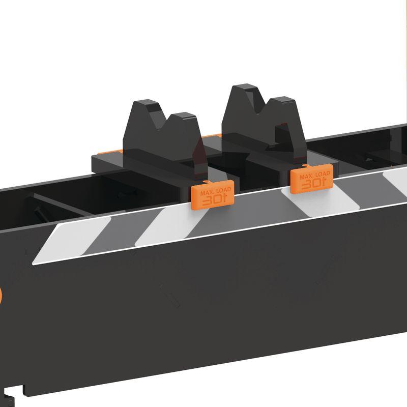 Unicraft WPP 30 BPH TOP - Prowadnice stołu oporowego