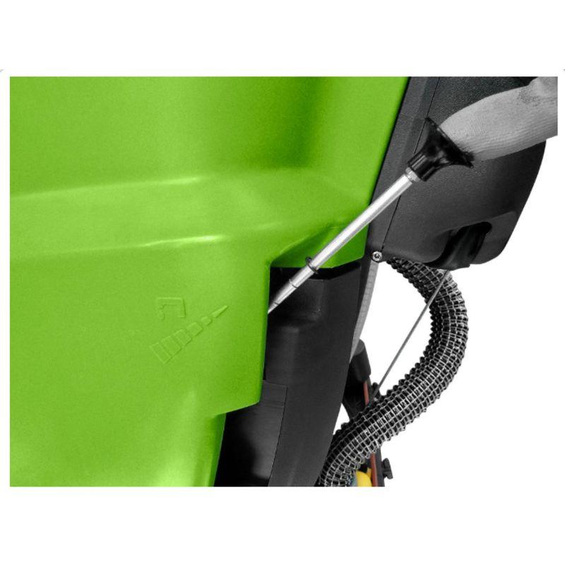 Cleancraft SSM 550 - Możliwość ustawienia zużycia roztworu czyszczącego
