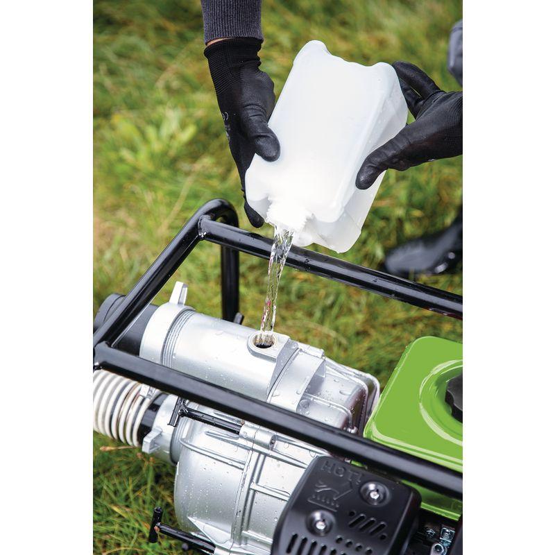 Cleancraft FWP 50 - przygotowanie urządzenia do pracy