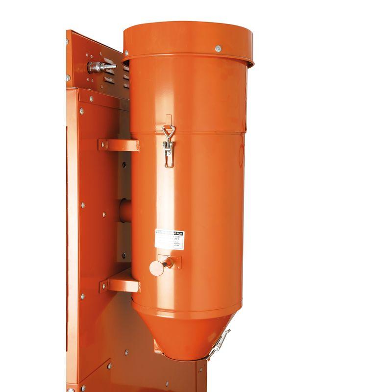 Unicraft SSK 2,5 - zintegrowany system wyciągowy z wymiennym filtrem