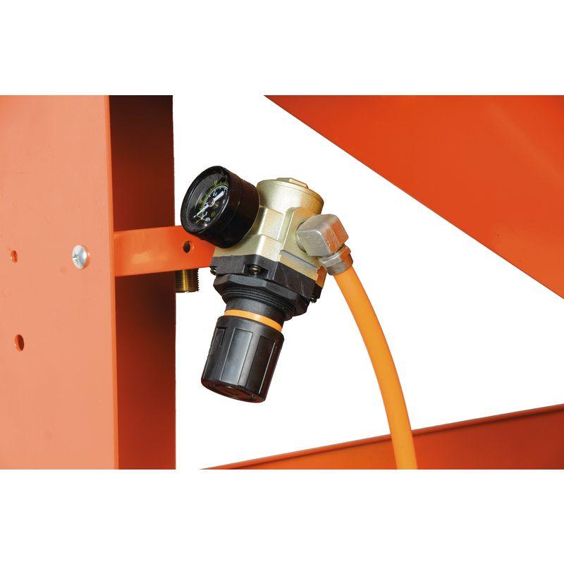 Unicraft SSK 4 - ręczny regulator ciśnienia z manometrem