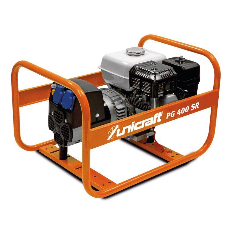 Unicraft PG 400 SR - ekonomiczny w użyciu z silnikiem Hondy