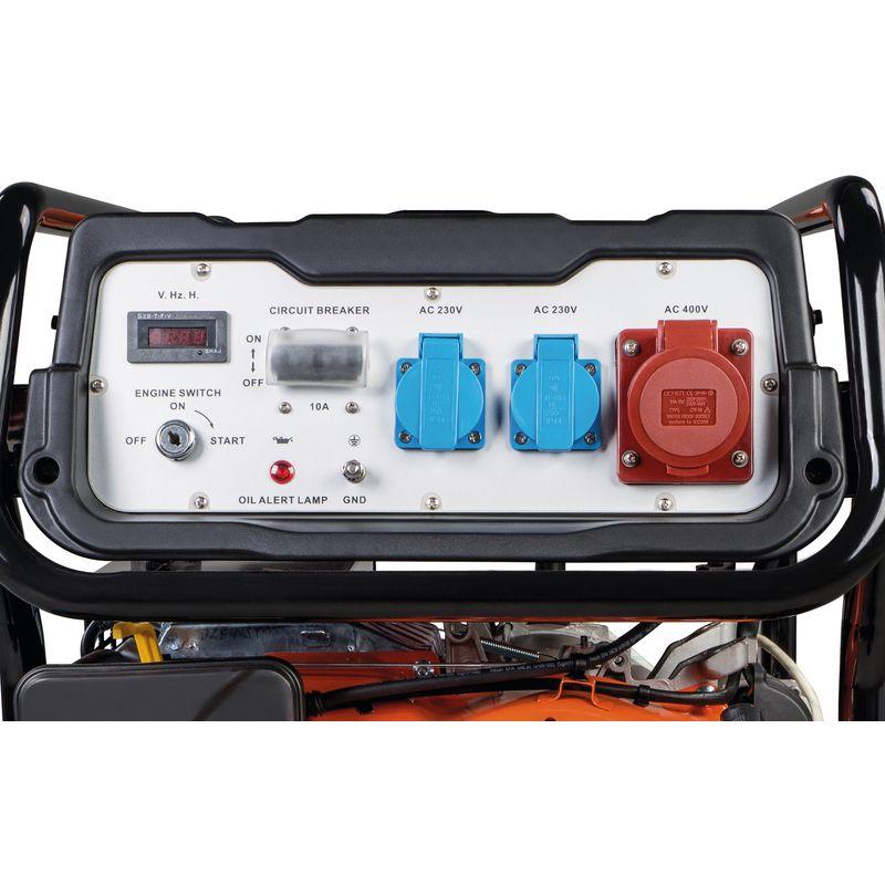 Unicraft PG-E 80 TEA - panel sterujący z gniazdkami 230 V i 400 V