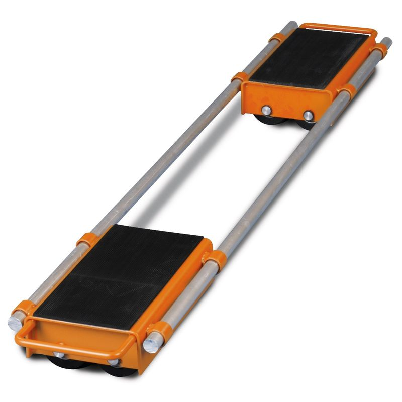 Unicraft VTR 12 - sprzężone platformy o udźwigu 12 ton łącznie