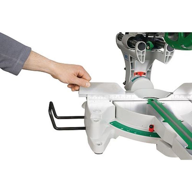 Holzkraft KGZ 305 E - regulowane szyny i podpórki