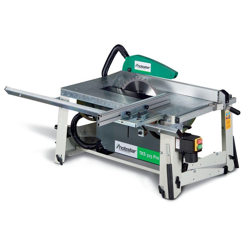 Holzstar 315 TKS PRO (400V) - z dużym stołem roboczym