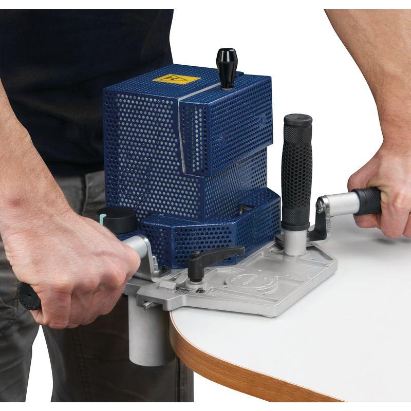 Holzkraft GOLIATH - urządzenie w pracy