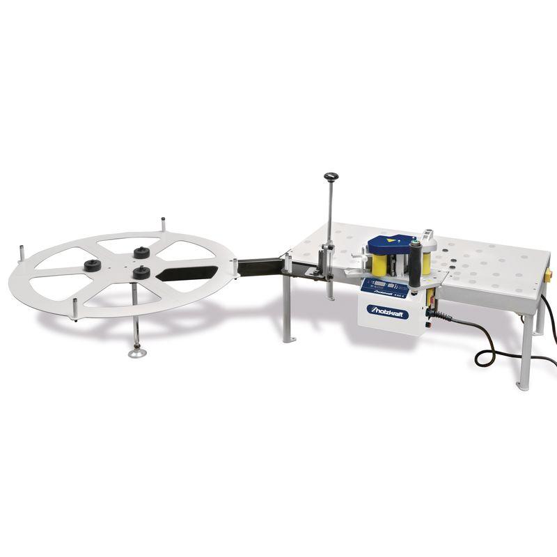 Holzkraft STA 80 - możliwość zamontowania osprzętu (okleiniarka nie należy do zestawu)