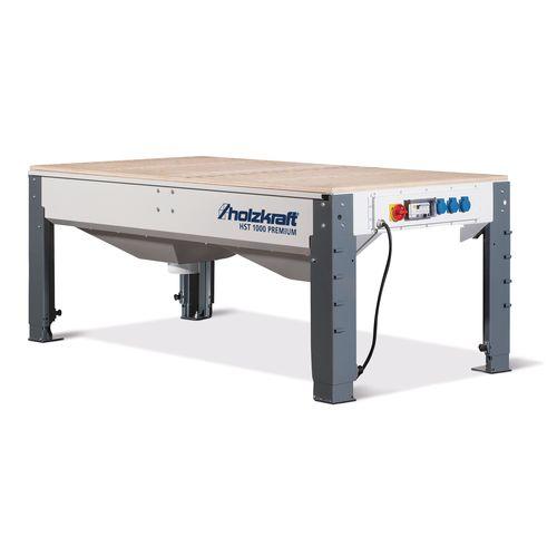 profesjonalny stół do szlifowania z odciągiem