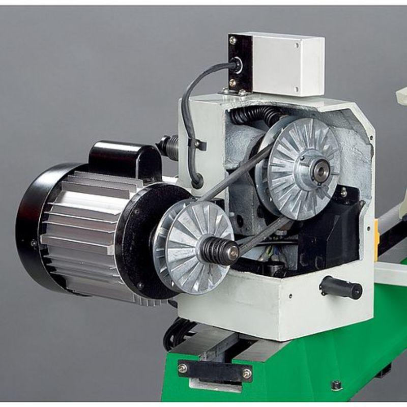 Holzstar DB 1100 - płynna regulacja prędkości poprzez pasek klinowy