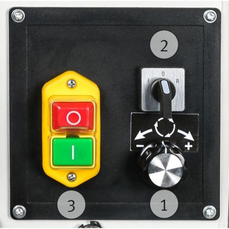 Holzstar DB 1202 - falownik, przełącznik kierunkowy i wyłącznik bezpeczeństwa
