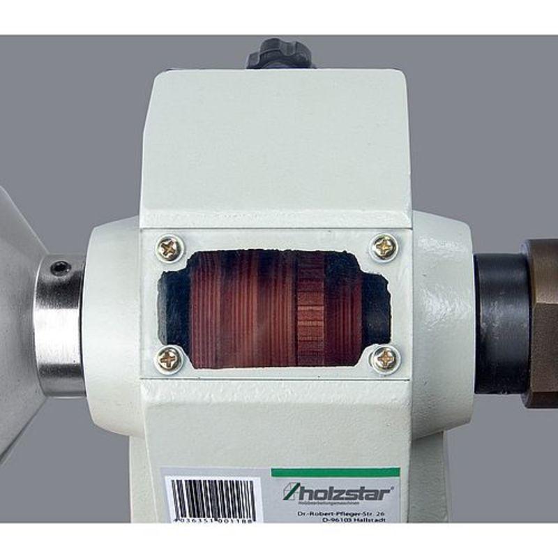 Holzstar DB 450 - regulacja prędkości