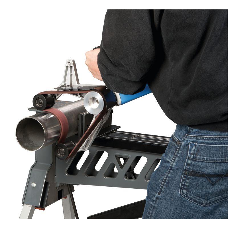 Metallkraft RSM 760 - dwa kroki robocze do szlifowania obwodowego