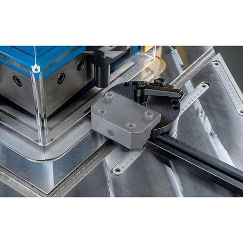 Metallkraft AKM 220-6 H - rowki teowe regulacji obrotowych ograniczników