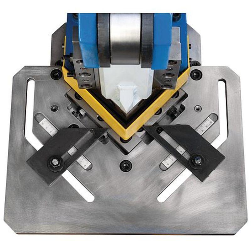 Metallkraft AKM 100 T - regulowane ograniczniki ze skalą