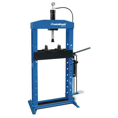 Prasa hydrauliczna ręczna 15 ton - Metallkraft WPP 15