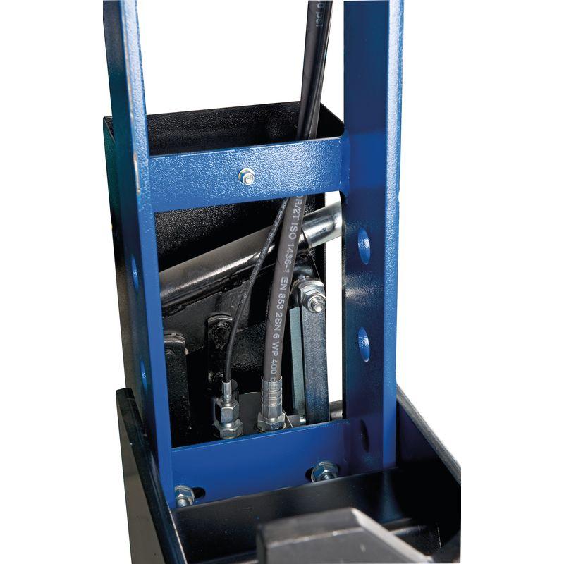 Metallkraft WPP 20 BK - układ hydrauliczny