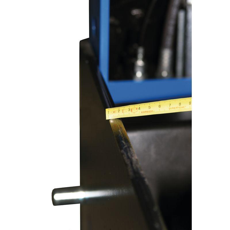 Metallkraft WPP 30 BK - solidna spawana konstrukcja