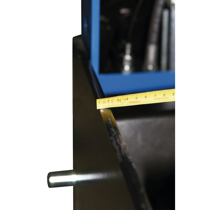 Metallkraft WPP 50 BK - solidna spawana konstrukcja