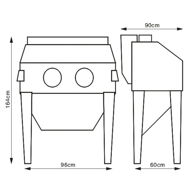 Unicraft SSK 2,5 - rysunek i wymiary