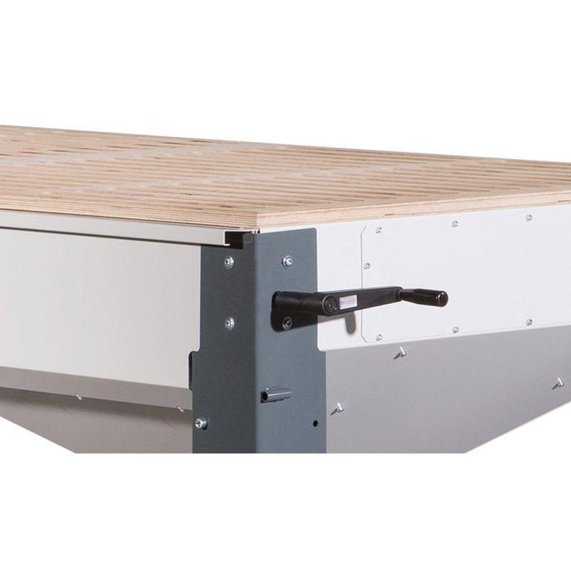 Holzkraft HST 2000 PREMIUM - hydrauliczna regulacja wysokości (opcja fabryczna)