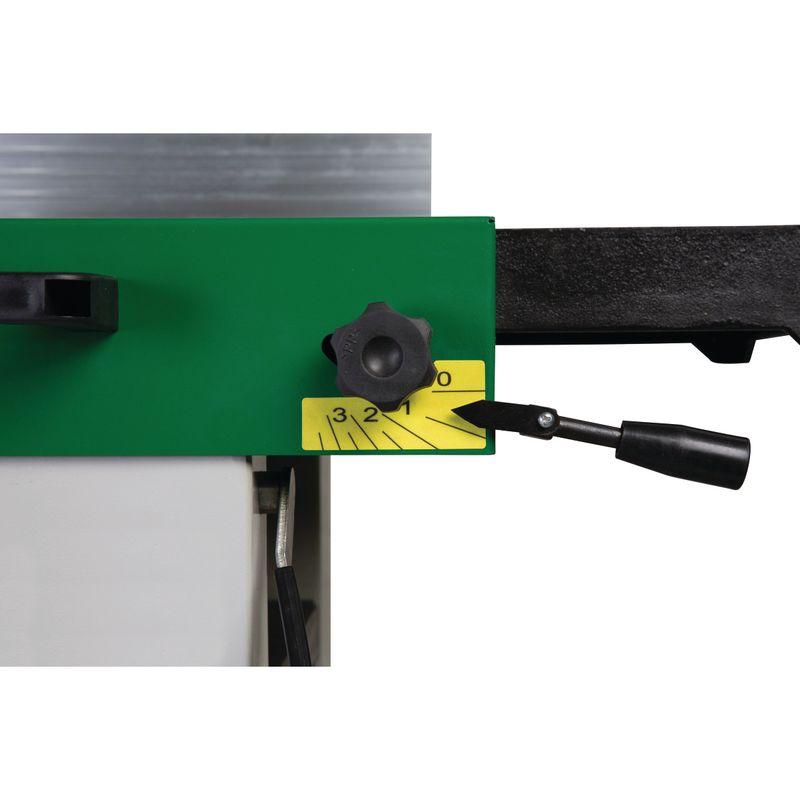 Holzstar ADH 26C - regulacja grubości zbioru