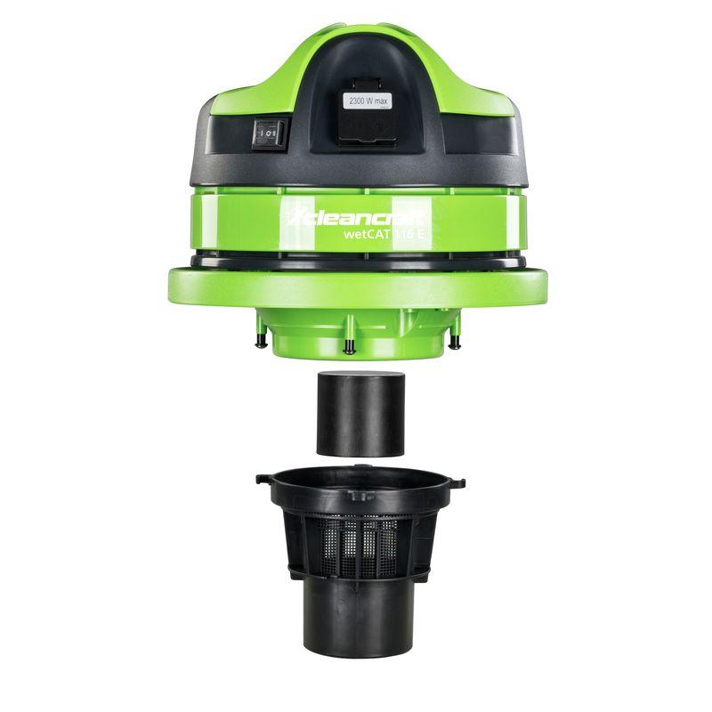Cleancraft wetCAT 116 E - filtry i część napędowa