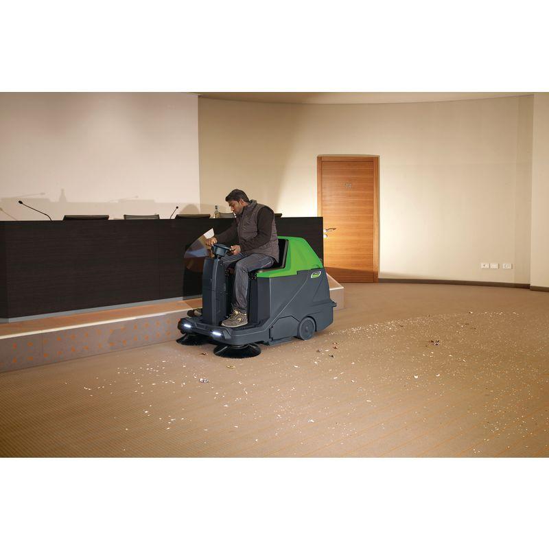 Cleancraft AUKM 600 - podczas pracy