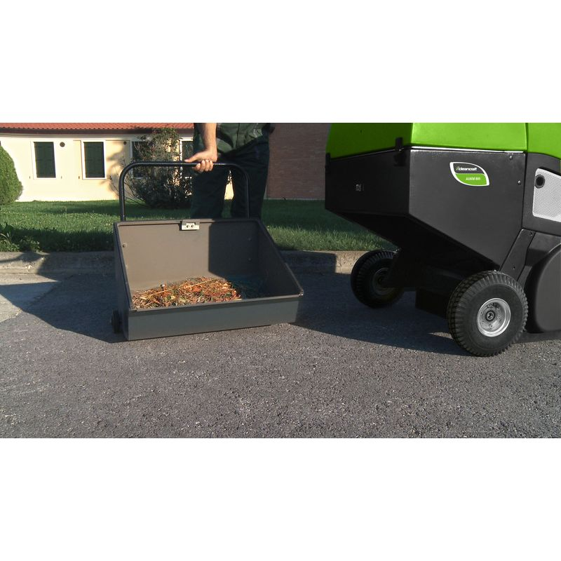 Cleancraft AUKM 800 - ręcznie opróźniany pojemnik na zebrane nieczystości