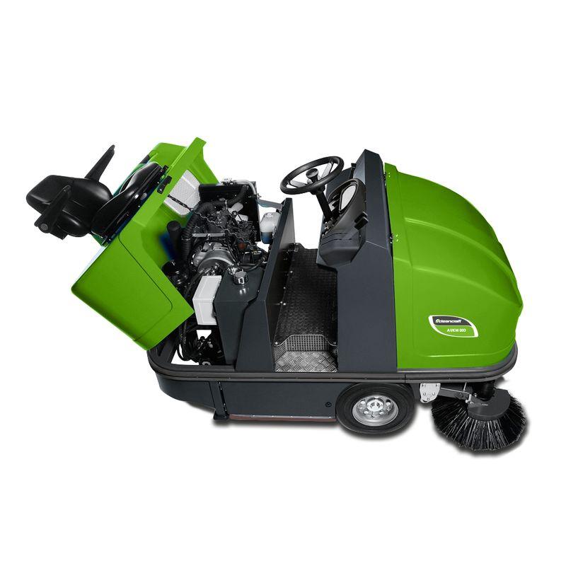 Cleancraft AUKM 900 - przestrzeń napędowa