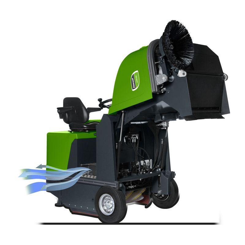 Cleancraft AUKM 900 - uniesione filtry z pokrywą
